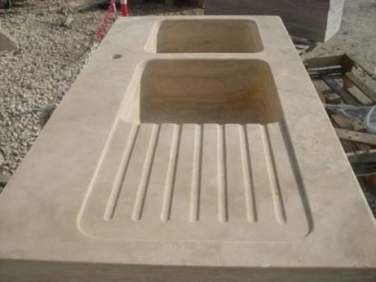 Piano Cucina In Marmo Travertino.Top Bagno Piani Cucina In Travertino Marmo Granito Vendita E