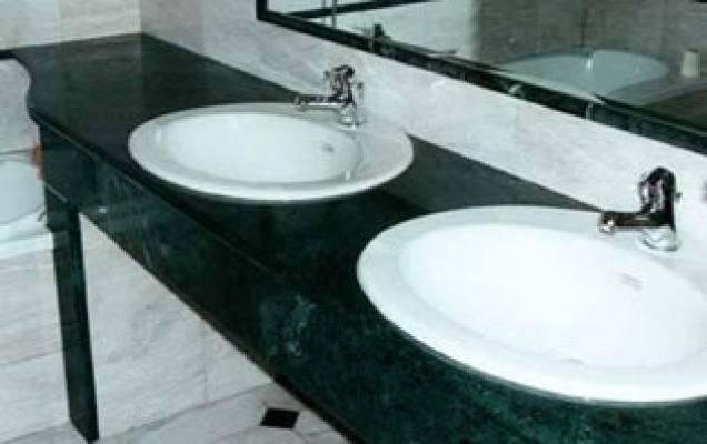 Top bagno piani cucina in travertino marmo granito-Vendita e ...